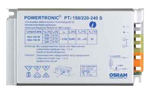 ЭПРА Powertronic Intelligent PTi 150/220-240 S Osram