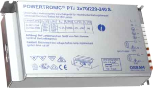 ЭПРА Powertronic Intelligent PTi 2x70/220-240 S Osram